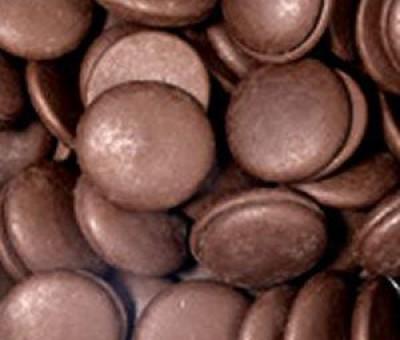 Диски шоколадные (глазурь черная)
